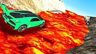 GTA VOLCANO MOUNTAIN RACE! (GTA 5 Funny Moments)