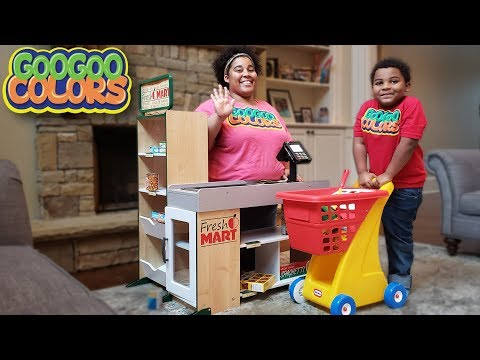 Xxx Mp4 Goo Goo Gaga Pretend Play Shopping With Gifts From JCPenney 3gp Sex