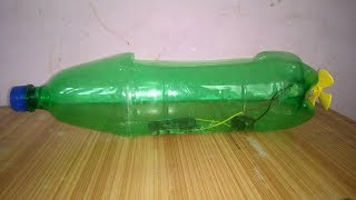 How to make a boat with plastic bottle.