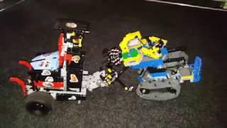 Турнир боевых роботов LEGO. 12.02.2017