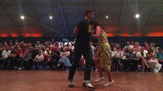 2017 Atomic UK Rock n Roll Jive Champions Chris & Georgie