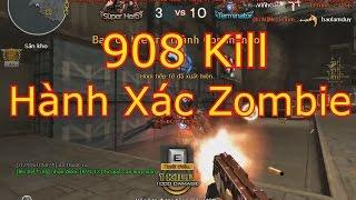 TMP Birthday CF || 908 Kill Nhiệt Zombie V4 - Gấp Đôi Canxi Để Làm Gì =))))