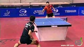 2012 Slovenian Open - MS final - MA Long (CHN) vs Zhang Jike (CHN)