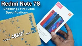 Redmi Note 7S Unboxing / First Look || Redmi Note 7S Specifications / Rs.12999