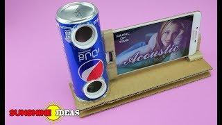 FREE !!  Soda Can Mobile Phone Speakers สุดเจ๋ง ทำลำโพงมือถือ เสียงดีเสียงดัง  ตังค์ไม่ต้องเสีย