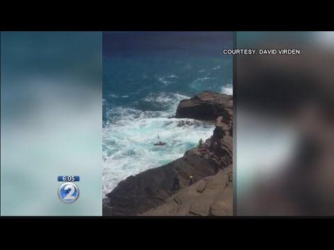 14 year old hospitalized after failed Spitting Caves jump