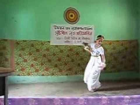 CREATIVE DANCE BY NABAMALLIKA SARMA, DEMOW (SIVASAGAR, ASSAM, INDIA)