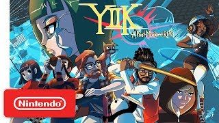 YIIK: A Post-Modern RPG - Launch Trailer - Nintendo Switch
