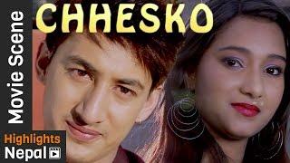Archana Paneru ले गरिन Friendship - Nepali Movie CHHESKO Scene Ft. Archana Paneru, Rajan Karki
