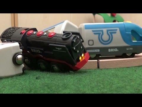 Many Toy Trains Crash Thomas and Friends Brio City Kids Zug Kinderfilm Lokomotive Züge Freunde Toys