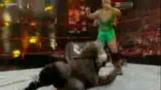 WWE Armageddon 2008 Finlay vs Mark Henry Highlights