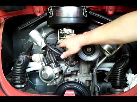Tonella medindo a compressão do motor do fusca 3 3