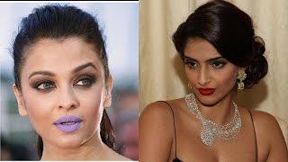 Sonam Kapoor : Aishwarya purple lips was a publicity stunt