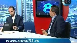 Debate entre Nayib Bukele y el actual alcalde de Nuevo Cuscatlán, Álvaro Rodríguez