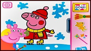 Peppa Pig: Paintbox App Full Gameplay - Kids learn Colors with Peppa Pig - Coloring App for Kids