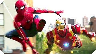SPIDER-MAN HOMECOMING Trailer (2017) Marvel Superhero Blockbuster