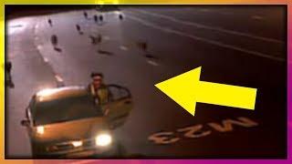 شرطي أوقف سائق للمخالفته فأنقذ حياته | أغرب 5 مقاطع على الإنترنت