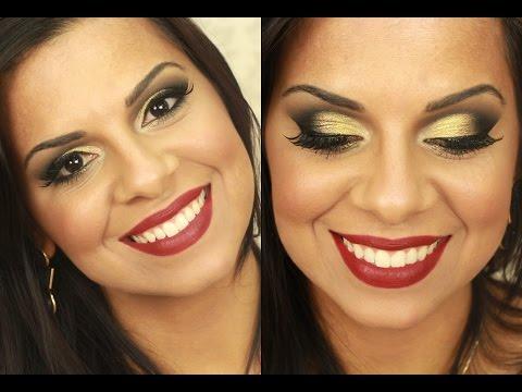 Maquiagem para Morenas com Evelyn Regly Por Bianca Andrade