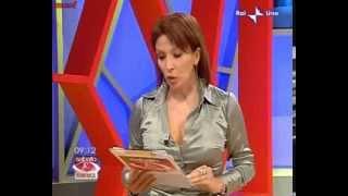 Sonia Grey Satin Blouse n Big Boobs(Italian)