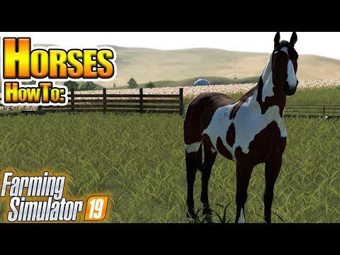Xxx Mp4 Horses In Farming Simulator 19 How To In FS19 3gp Sex
