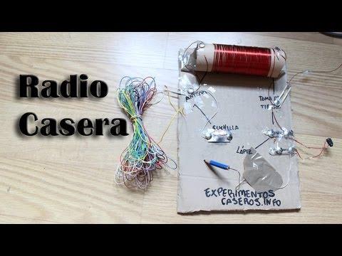 Cómo hacer una radio casera sin pilas Experimentos Caseros