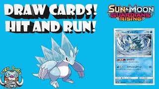 Alolan Sandslash Helps You Draw Cards! And he Hits and Runs! (Pokémon TCG)