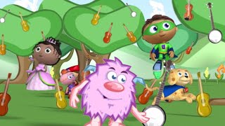 Super Why 212 - Super WHY and Monty�s Adventures in Music Town | Cartoons for Kids