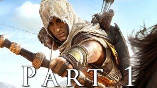 ASSASSIN'S CREED ORIGINS Walkthrough Gameplay Part 1 - Oracle (AC Origins)