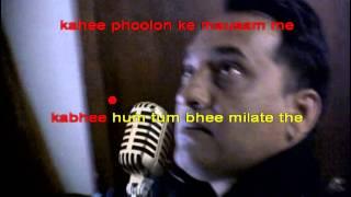 Suhani Chandani Raatein karaoke