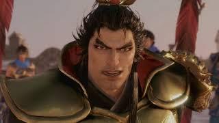 Dynasty Warriors 9 - Lu Bu Gets Killed Cutscene
