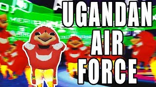 UGANDAN KNUCKLES AIR FORCE KNOWS THE WAY(VRChat)