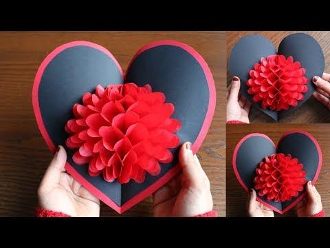 Xxx Mp4 DIY Flower Pop Up Card 6 Paper Crafts Handmade Craft 3gp Sex