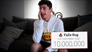 My Road to 10,000,000 Subscribers. (emotional)