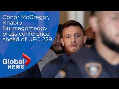 Xxx Mp4 LIVE Conor McGregor And Khabib Nurmagomedov Face Off In Press Conference Ahead Of UFC 229 3gp Sex