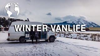 How to Survive Winter Living in a Van