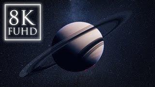 Saturn Time Lapse ~ FUHD 8K ~