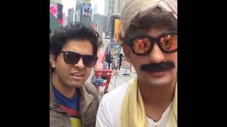 Politician (Nograj) wants to be US President | Facebook Live from Times Square