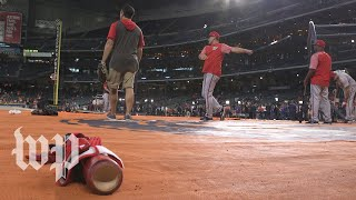 'It's going to be fun': Nationals fans converge on Houston for the World Series