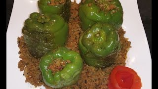 Keema Bhari Shimla Mirch قیمہ بھری شملہ مرچ / Cook With Saima