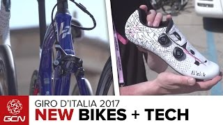 NEW Bikes & Cool Tech From The Giro D'Italia 2017