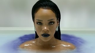 Rihanna Nude in a Milky Tub in Her 'ANTIdiary' Video