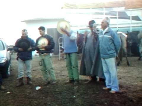 Benção e Oração aos Cavaleiros na Fazenda do Pedro Bala.AVI