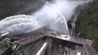Tehri Garhwal dam flood gates opened Uttarakhand, Gourikund, Chardham floods june 2013 latest video.