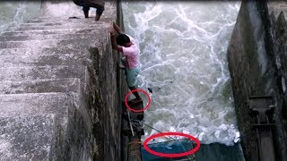 Dangerous Fishing Videos In A Village Of India