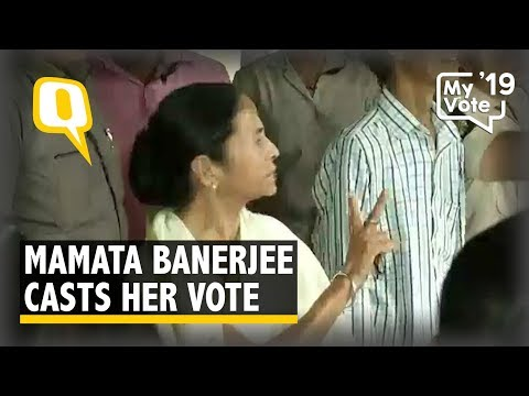 Xxx Mp4 Mamata Banerjee Casts Her Vote In Kolkata West Bengal The Quint 3gp Sex
