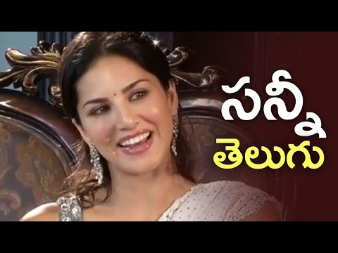 Sunny Leone Tries To Speak In Telugu | Cute and Sweet | Unseen Video | TFPC
