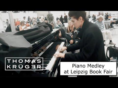 PIANO MEDLEY at Leipzig Book Fair – THOMAS KRÜGER