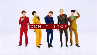 3d audio shinee dont stop
