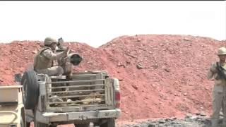 #السعودية ترد على #الحوثيين وتقصف مواقع قبالة #نجران
