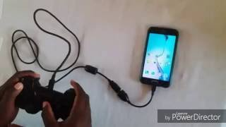 How to play games on ur phone using a Ps3 Controller